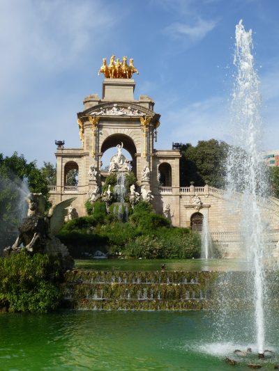 3 giorni a Barcellona: la Cascada del Parc de la Ciutadella