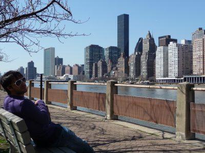 New York, chicche: Roosevelt Island, passeggiata sull'East River