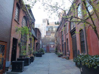 New York, chicche: Sniffen Court, Manhattan