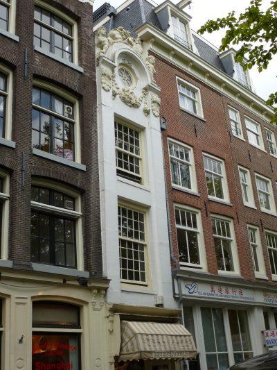 Amsterdam, Kloveniersburgwal, una casa strettissima