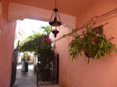 Una settimana a Miami: Espanola Way, dettaglio di un interno