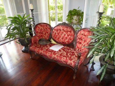 Una settimana a Miami: Key West, Hemingway House, interno