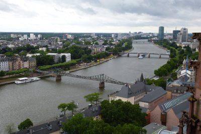 Weekend a Francoforte: vista sul Meno dal campanile del Kaiserdom