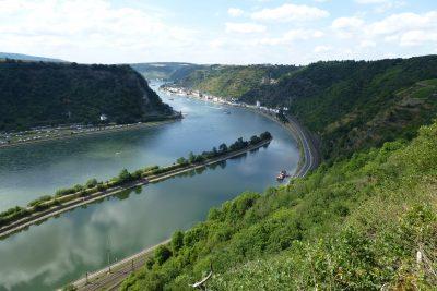 Tour di 9 giorni in Germania: vista sul Reno dall'alto della Rupe della Loreley