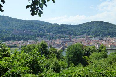 Tour di 9 giorni in Germania: Heidelberg vista dal Philosophenweg