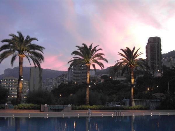 Tramonto a Montecarlo, Principato di Monaco