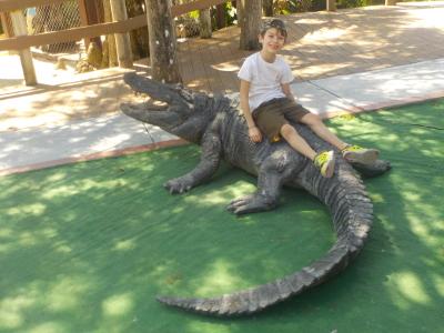 Florida a misura di bambino: Miccosukkee Village