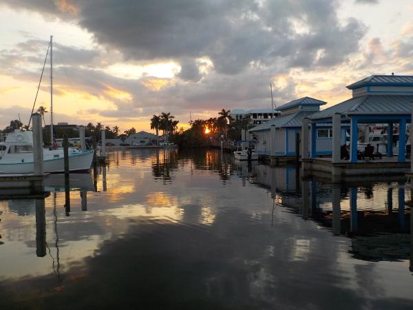 Tramonto a Naples, Florida, USA
