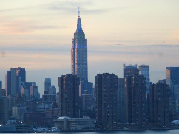 Tramonto a New York, USA