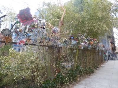 Dettaglio di uno dei Community Garden