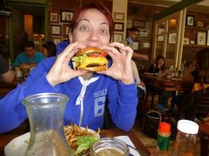 Mangiare a Manhattan: Hamburger a Tribeca