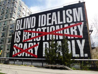 High Line, dettaglio artistico