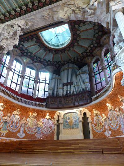 3 giorni a Barcellona: Palau de la Musica Catalana