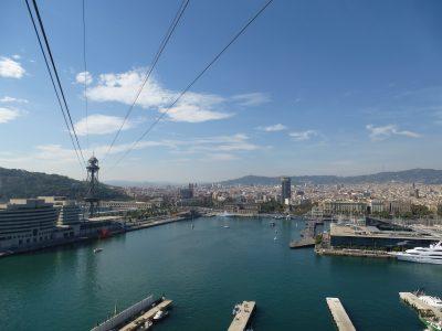 3 giorni a Barcellona: Trasbordador Aeri, funivia per il Montjuic