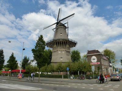 Amsterdam, De Gooyer Windmill