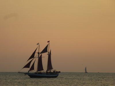 Una settimana a Miami: Keys, tramonto a Key West in Mallory Square