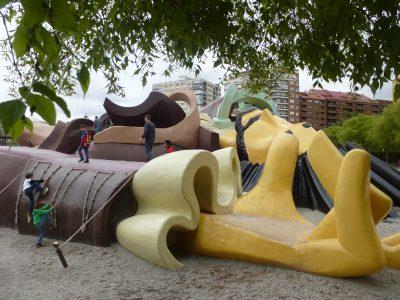 Valencia con i bambini: Parc Gulliver