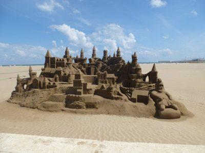 Valencia con i bambini: in spiaggia