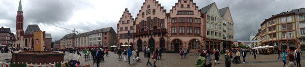 Weekend a Francoforte: panoramica Romerberg
