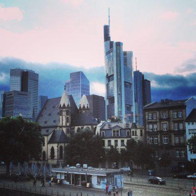 Weekend a Francoforte: vista dal fiume Meno