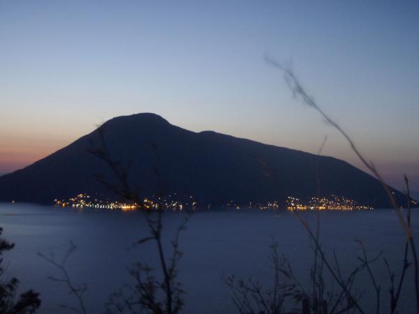 Tramonto a Lipari, Isole Eolie, Italia